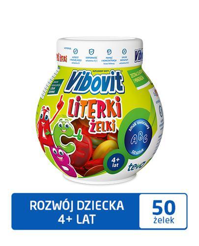 VIBOVIT LITERKI Żelki - 50 szt. - Drogeria Melissa