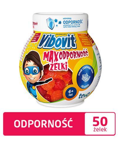 VIBOVIT MAX ODPORNOŚĆ Żelki - 50 szt. - Apteka internetowa Melissa