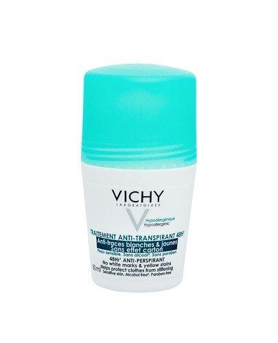 VICHY Dezodorant antyperspirant w kulce 48H zapobiegający powstawaniu białych i żółtych plam - 50 ml - Apteka internetowa Melissa