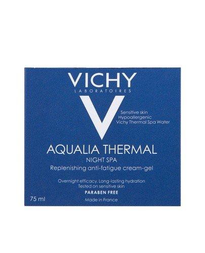 VICHY AQUALIA THERMAL SPA Nawilżający i regenerujący żel-krem przeciw objawom zmęczenia na noc - 75 ml - Apteka internetowa Melissa