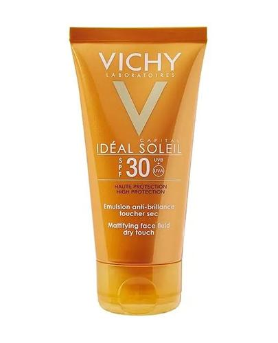 VICHY CAPITAL IDEAL SOLEIL Matujący krem/emulsja do twarzy SPF30 - 50 ml - Apteka internetowa Melissa