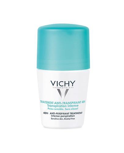 VICHY Dezodorant antyperspirant w kulce 48H przeciw intensywnemu poceniu skóra normalna - 50 ml - Drogeria Melissa