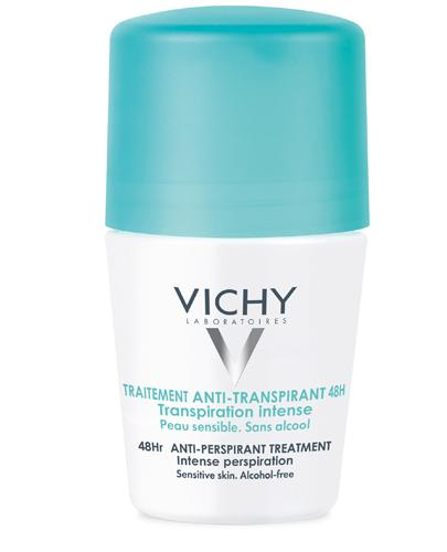 VICHY Dezodorant antyperspirant w kulce 48H przeciw intensywnemu poceniu skóra normalna - 50 ml - Apteka internetowa Melissa