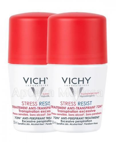 VICHY DEO Dezodorant antyperspirant STRESS RESIST 72h - 2 x 50 ml (vichy kulka) - Apteka internetowa Melissa