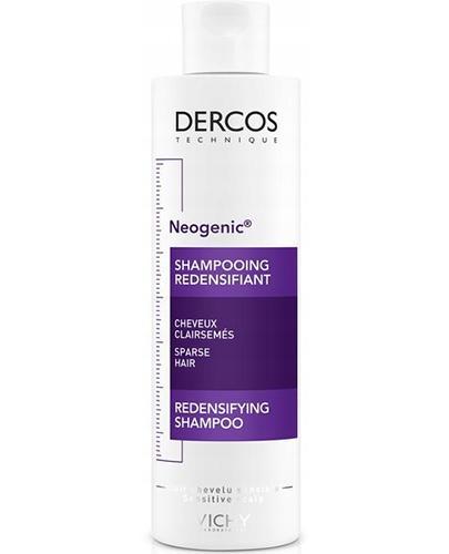 VICHY DERCOS NEOGENIC Szampon przywracający gęstość włosów - 200 ml - cena, opinie, właściwości - Drogeria Melissa