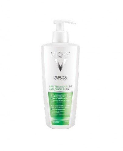 VICHY DERCOS Szampon przeciwłupieżowy do włosów tłustych - 390ml - Apteka internetowa Melissa