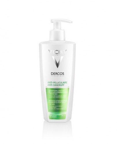 VICHY DERCOS Szampon przeciwłupieżowy włosy suche - 390 ml - Apteka internetowa Melissa