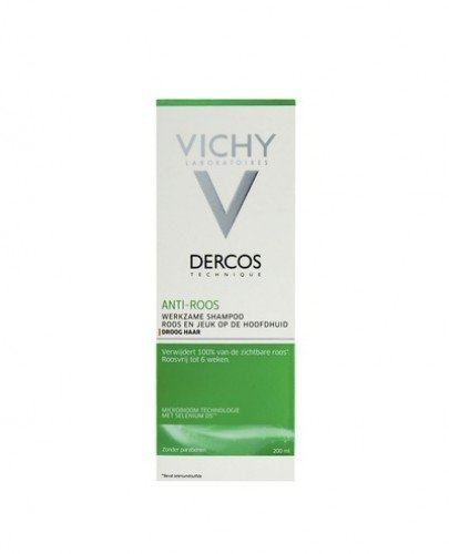 VICHY DERCOS Szampon przeciwłupieżowy włosy suche - 200 ml - cena, opinie, właściwości - Apteka internetowa Melissa