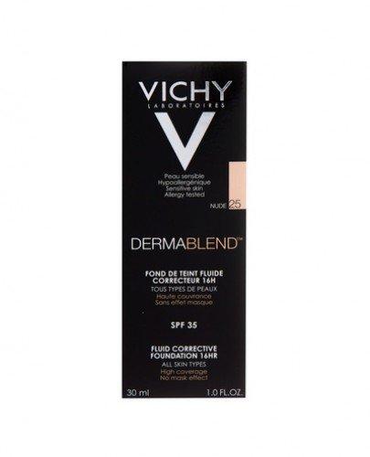 VICHY DERMABLEND Fluid korygujący 25 nude - 30 ml - cena, opinie, właściwości - Apteka internetowa Melissa