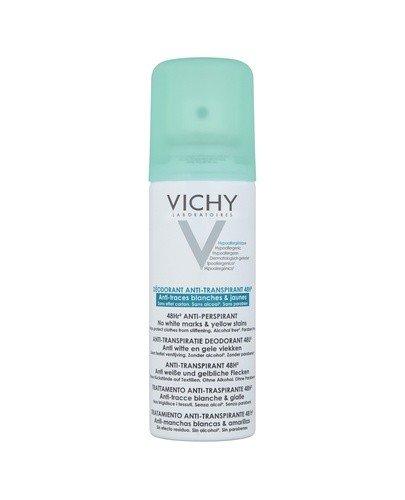 VICHY DEO Dezodorant antyperspirant w aerozolu 48h zapobiega powstawaniu śladów - 125 ml - Apteka internetowa Melissa
