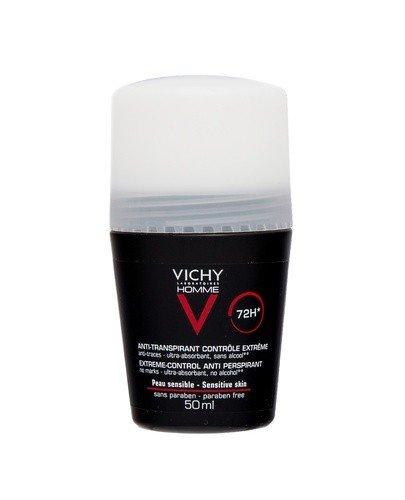 VICHY HOMME Antyperspirant w kulce 72 godzinna ochrona przed poceniem - 50 ml - cena, opinie, właściwości