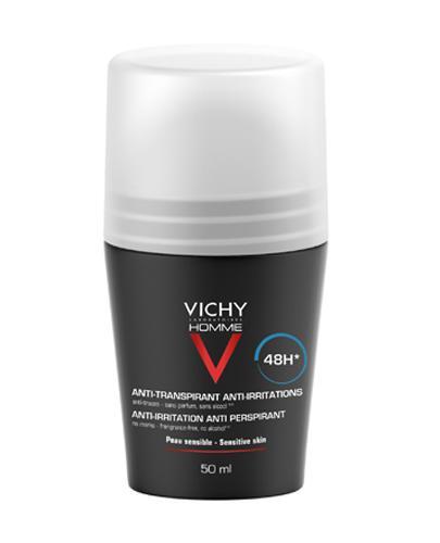VICHY HOMME Antyperspirant w kulce dla skóry wrażliwej - 50 ml - cena, opinie, właściwości - Apteka internetowa Melissa