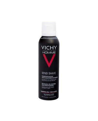 VICHY HOMME Pianka do golenia przeciw podrażnieniom - 200 ml - cena, opinie, właściwości - Drogeria Melissa