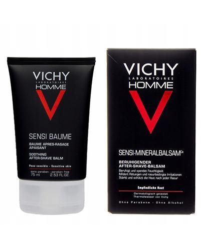 VICHY HOMME SENSI-BAUME Balsam po goleniu - 75 ml - cena, opinie, właściwości