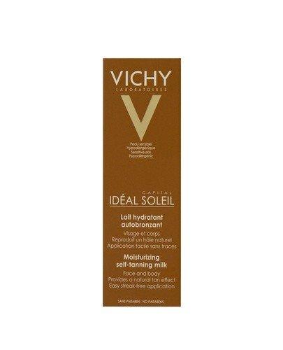 VICHY CAPITAL SOLEIL Brązujące mleczko nawilżające twarz i ciało (samoopalacz) - 100 ml - Apteka internetowa Melissa