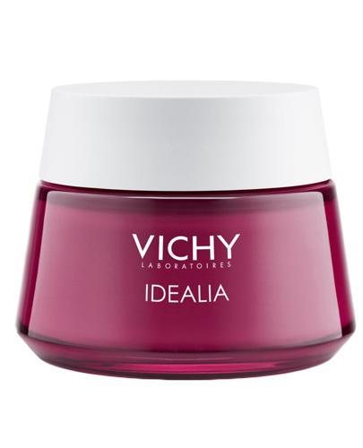 VICHY IDÉALIA Energetyzujący krem wygładzający do skóry normalnej i mieszanej 50 ml - cena, opinie, właściwości - Drogeria Melissa
