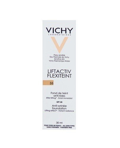 VICHY LIFTACTIV FLEXITEINT Podkład wygładzajacy zmarszczki 35 sand - 30 ml - Apteka internetowa Melissa