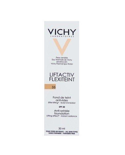 VICHY LIFTACTIV FLEXITEINT Podkład wygładzający zmarszczki SPF 20 35 sand - 30 ml - cena, opinie, właściwości
