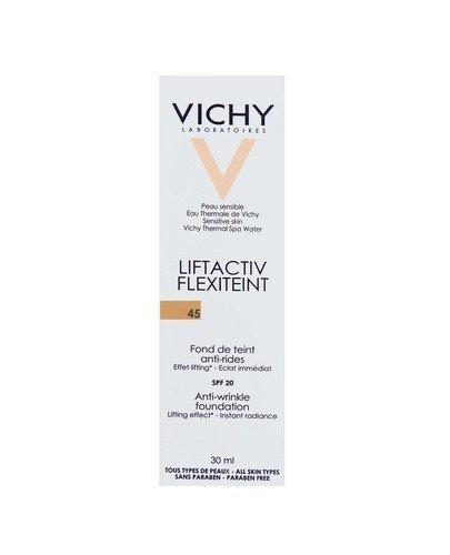 VICHY LIFTACTIV FLEXITEINT Podkład wygładzający zmarszczki SPF 20 45 gold - 30 ml - cena, opinie, właściwości