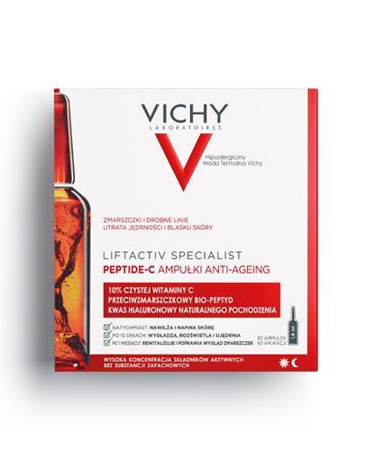 Vichy Liftactiv Specialist PEPTIDE-C Ampułki anti-ageing - 30 ampułek Kuracja przeciwstarzeniowa - cena, opinie, stosowanie - Drogeria Melissa