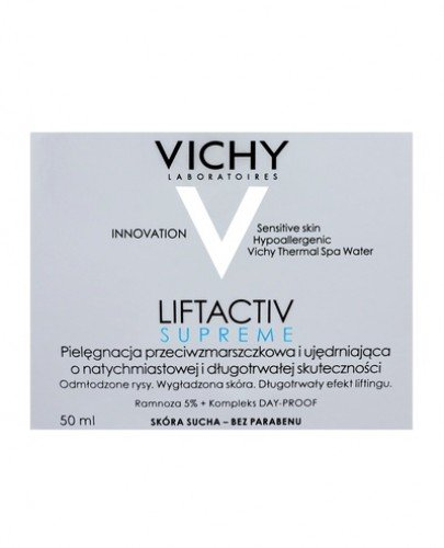VICHY LIFTACTIV SUPREME Krem do cery suchej - 50 ml - Apteka internetowa Melissa