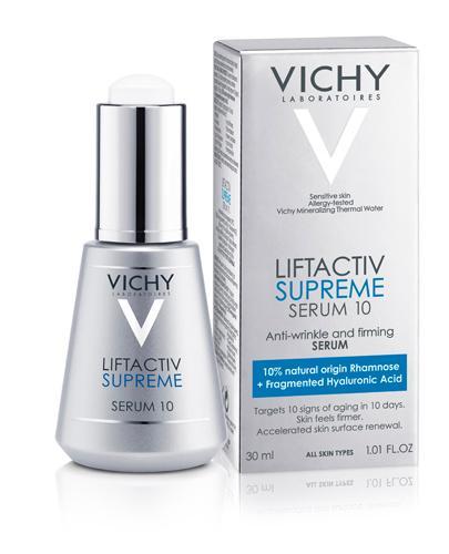 VICHY LIFTACTIV SUPREME Serum 10 Serum przeciwzmarszczkowe i ujędrniające - 30 ml - cena, opinie, właściwości