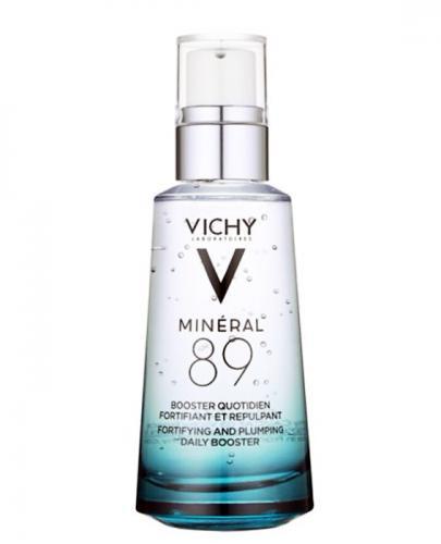 VICHY MINERAL 89 Booster - serum wzmacniające - 50 ml + VICHY MINERAL 89 SKONCENTROWANE SERUM 10ML - Drogeria Melissa