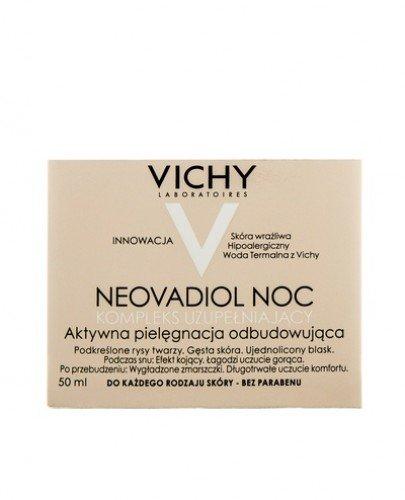VICHY NEOVADIOL COMPLEXE SUBSTITUTIF Uzupełniający krem do każdego rodzaju skóry na noc - 50 ml - Apteka internetowa Melissa
