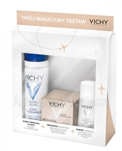VICHY NEOVADIOL MAGISTRAL Krem przywracający gęstość skóry  - 15 ml + VICHY EAU THERMALE Woda termalna - 50 ml  + VICHY PURETE THERMALE Płyn micelarny do demakijażu 3w1 - 30 ml