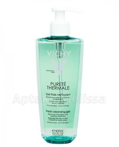 VICHY PURETE THERMALE Odświeżający żel do mycia twarzy - 400 ml - Apteka internetowa Melissa