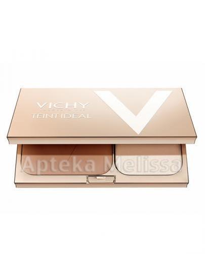 VICHY TEINT IDEAL COMPACT 3 TAN Podkład w pudrze - 9,5 g + Kosmetyczka z czterema próbkami VICHY GRA