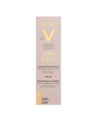 VICHY TEINT IDEAL FLUID 25 SAND Podkład we fluidzie - 30 ml - Apteka internetowa Melissa