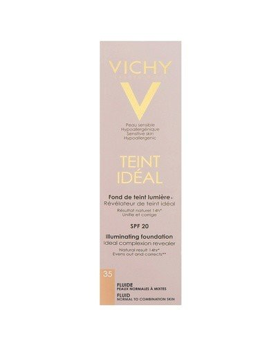 VICHY TEINT IDEAL FLUID 35 ROSY SAND Podkład we fluidzie - 30 ml - Apteka internetowa Melissa