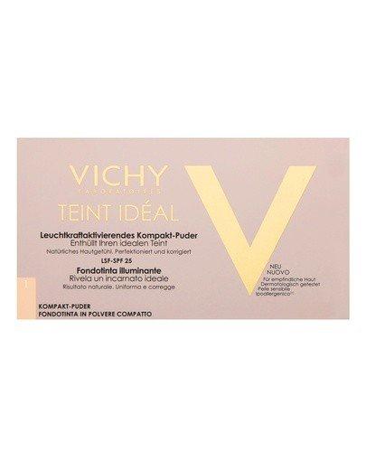 VICHY TEINT IDEAL COMPACT 1 LIGHT Podkład w pudrze - 9,5 g  - Apteka internetowa Melissa