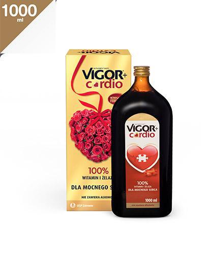 VIGOR+ CARDIO Tonik - 1000 ml. Dla mocnego serca. - Apteka internetowa Melissa