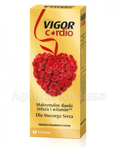 VIGOR CARDIO Tonik bezalkoholowy - 1000 ml - Apteka internetowa Melissa