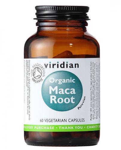 VIRIDIAN Organic maca root - 60 kaps. - Apteka internetowa Melissa