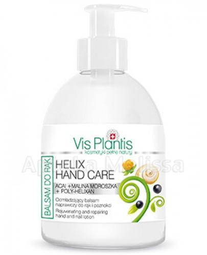 VIS PLANTIS HERBAL HAND CARE Odbudowująca maska odżywcza do rąk i paznokci acai + malina moroszka - 300 ml - Apteka internetowa Melissa