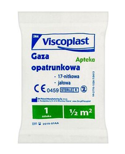 VISCOPLAST Gaza jałowa 1/2 m.kw. - 1 szt.