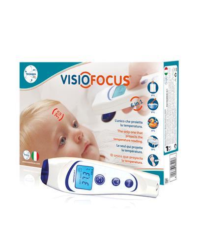 VISIOFOCUS 06400 Termometr bezdotykowy z etui Eva Case 1 szt.