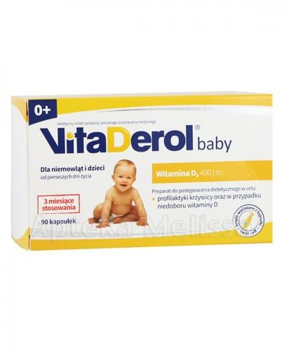 VITADEROL BABY 0+ - 90 kaps. Data ważności: 2017.10.30 - Apteka internetowa Melissa