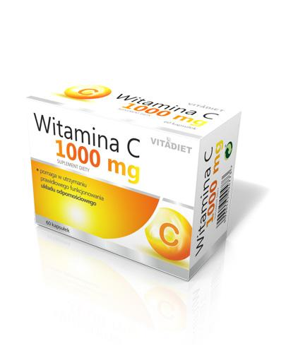 VITADIET Witamina C 1000 mg - 60 kaps. - Apteka internetowa Melissa