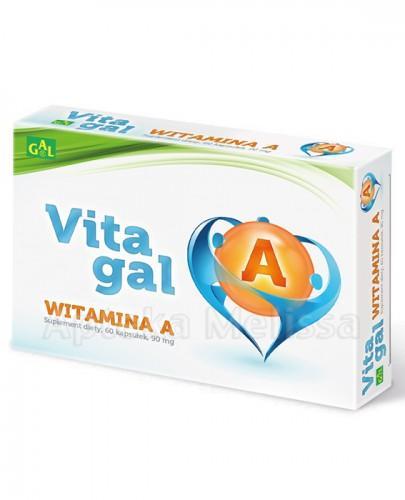 VITAGAL Witamina A 90 mg - 60 kaps. - Apteka internetowa Melissa