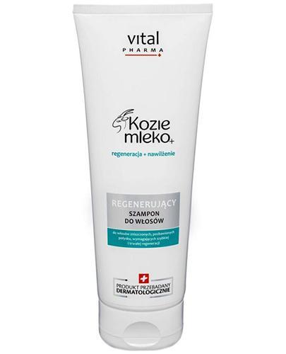 VITAL PHARMA KOZIE MLEKO+ Regenerujący szampon do włosów - 250 ml - Apteka internetowa Melissa