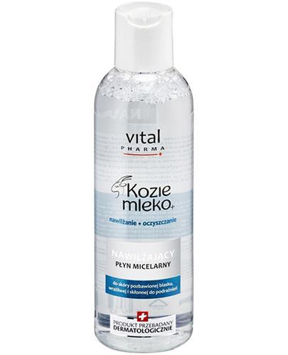 VITAL PHARMA KOZIE MLEKO+ Nawilżający płyn micelarny - 200 ml - Apteka internetowa Melissa