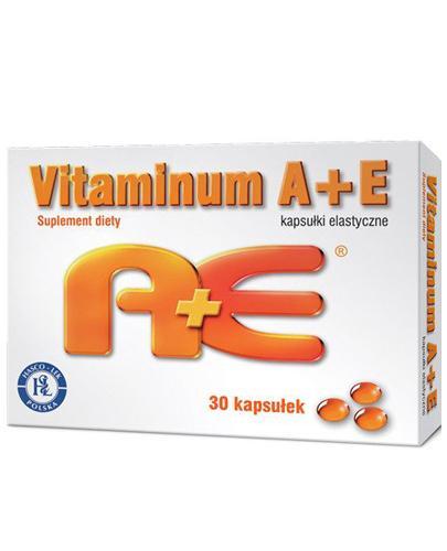 VITAMINUM A + E - 30 kaps.