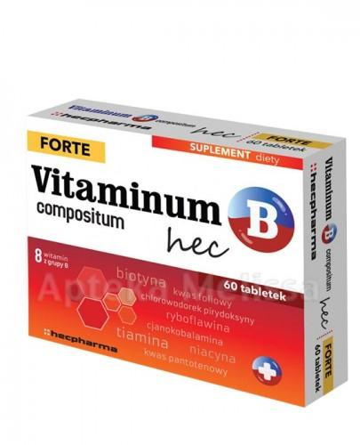 VITAMINUM B COMPOSITUM HEC FORTE - 60 tabl. - Apteka internetowa Melissa