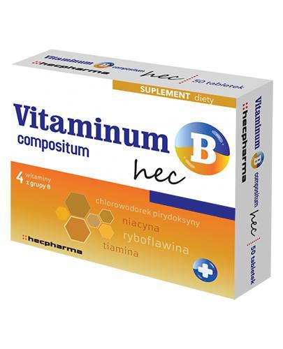 VITAMINUM B COMPOSITUM hec - 100 tabl. - Apteka internetowa Melissa