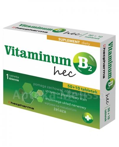 Vitaminum B2 Hec tabl. 60tabl.(2blist.po30