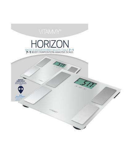 Vitammy Horizon Waga z analizatorem składu ciała 7 w 1 w kolorze perłowo srebrnym - 1 szt. - cena, opinie, instrukcja obsługi